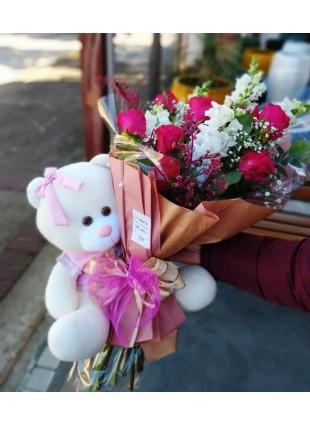 Flores + Urso